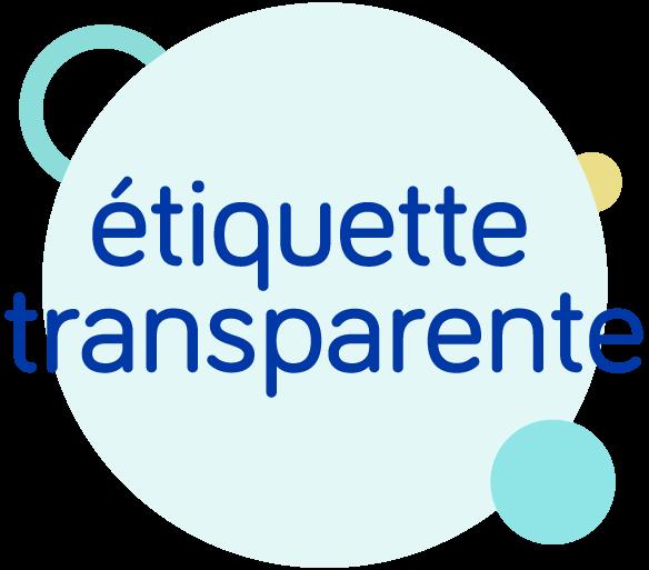 etiquette-transparente