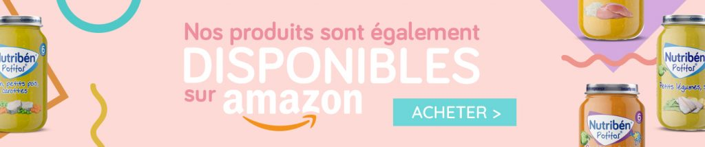 Nutriben produits amazon banner